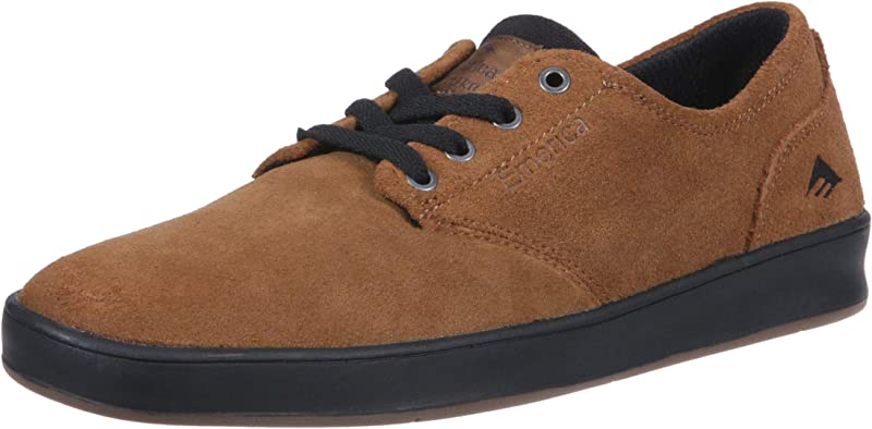 Emerica The Romero Laced Sneakers Herren Wildleder Braun/Schwarz