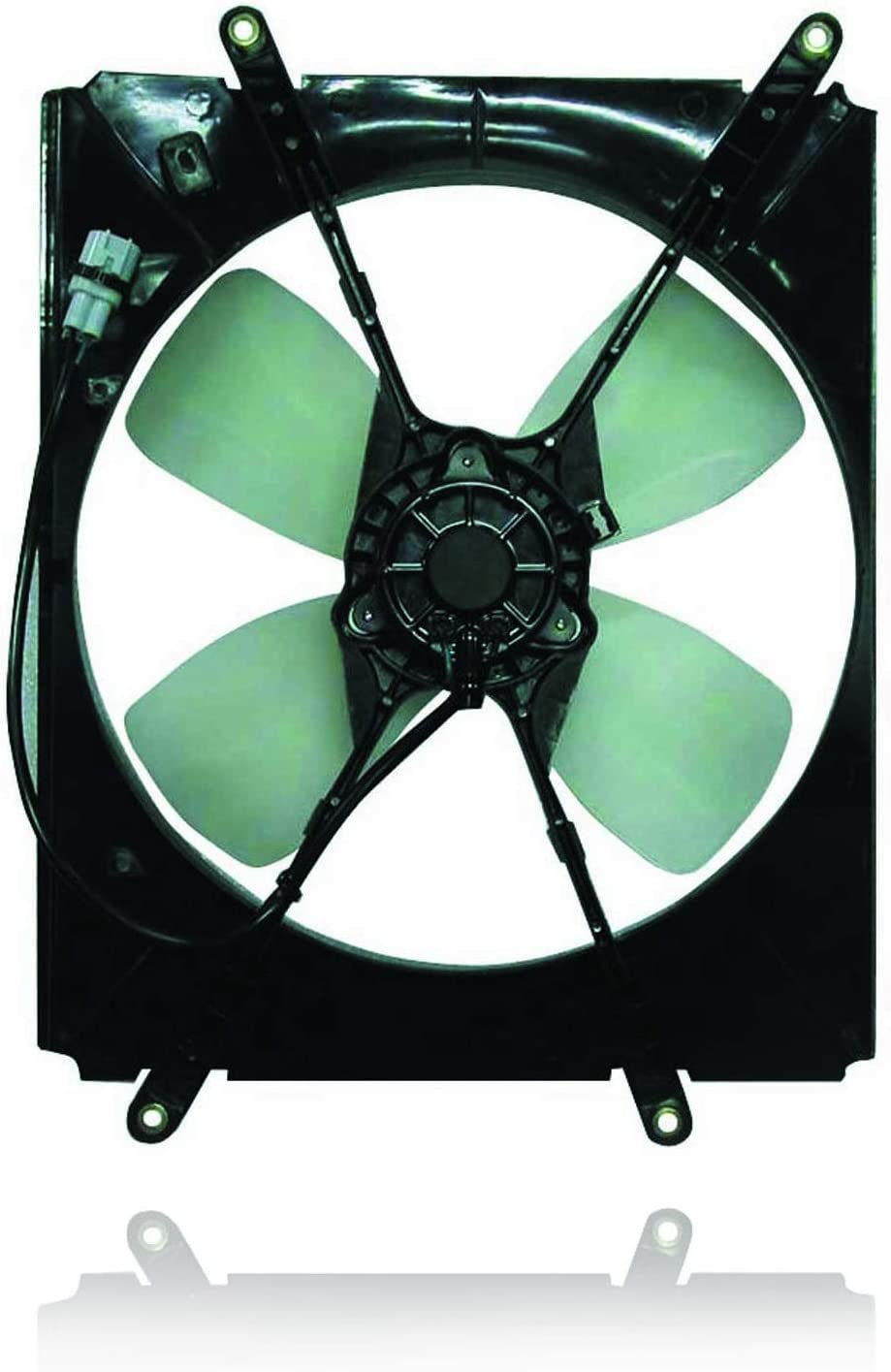 Engine Cooling Fan Assembly - Cooling Direct For/Fit 92-96 Toyota Camry 4Cy - 1636311020