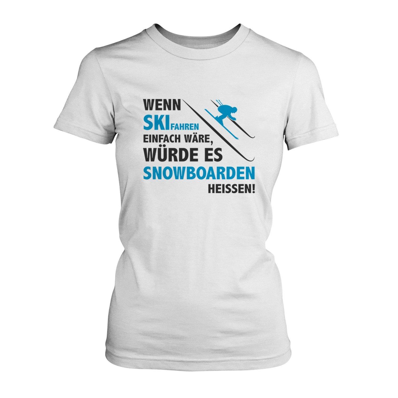 Spruch apres ski wenn ski fahren einfach w 228 re w 252 for Tshirt sprüche