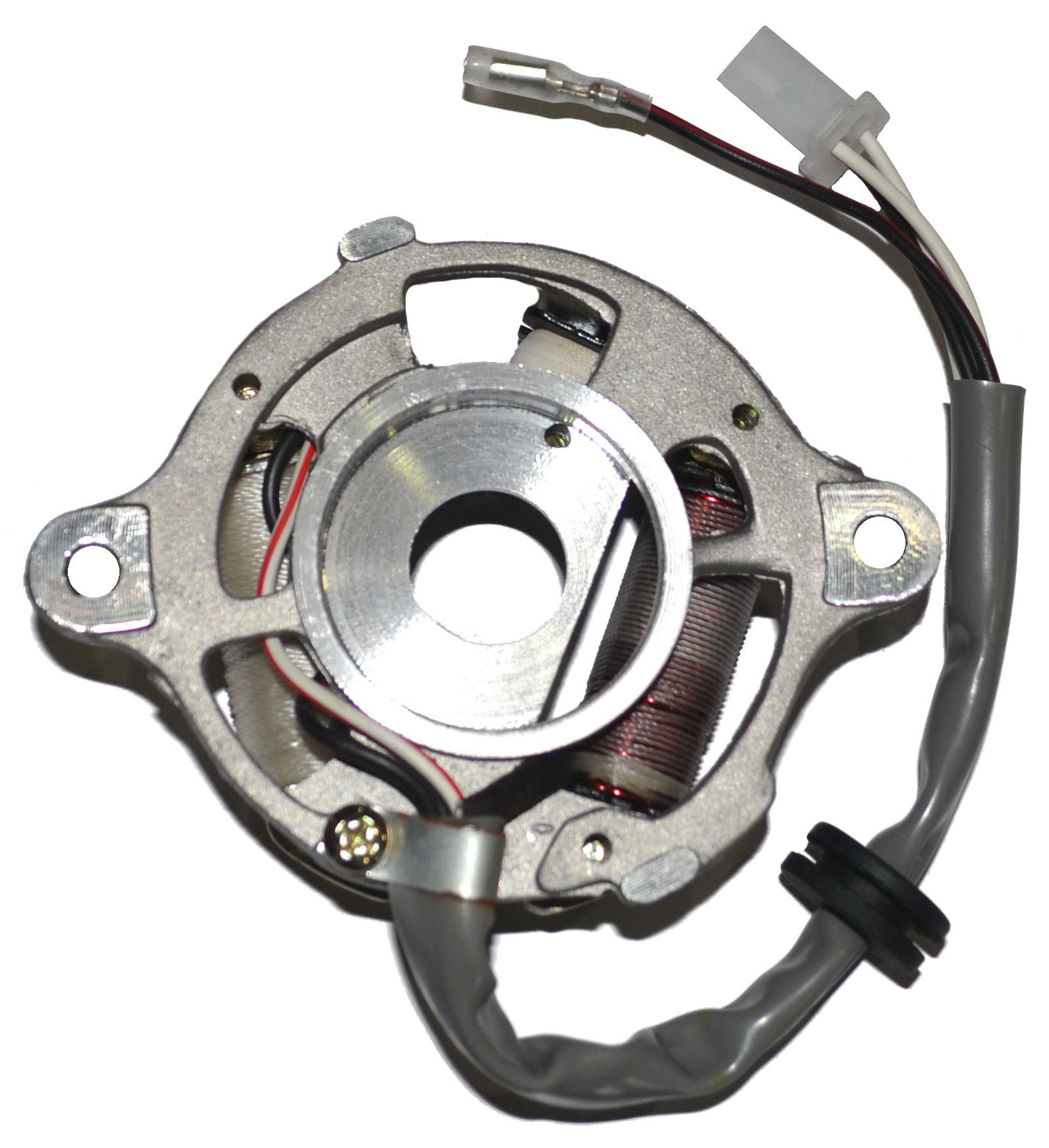Stator FOR YAMAHA PW 50 MAGNETO GENERATOR ASSEMBLY PW50 Y-ZINGER 1990-2000 NEW