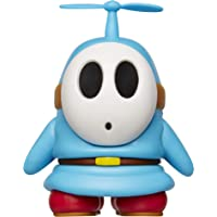 "Nintendo Super Mario Collectible Blue Shy Guy 4"" Poseable Articulated Action Figure with Propeller Accessory, Perfect For Kids & Collectors Alike! For Ages 3+"