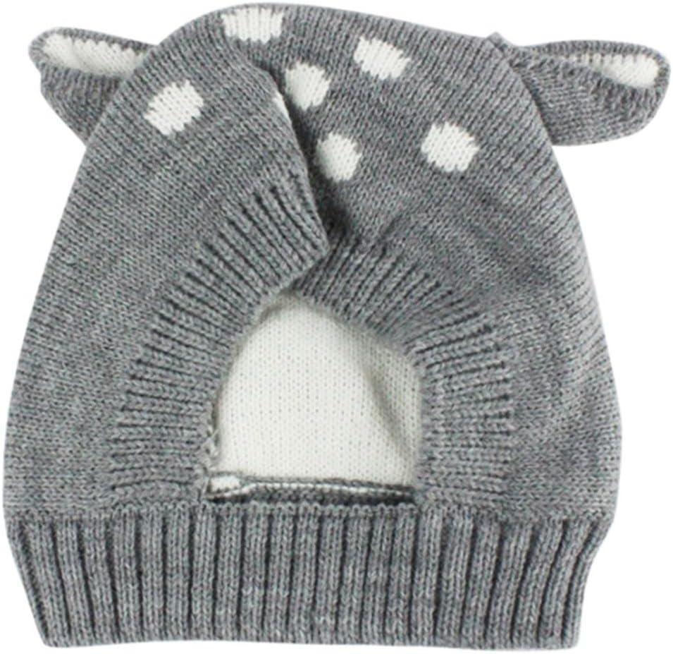 Sombrero de bebé de otoño e Invierno Sombreros para niños Sombrero de niños pequeños Bebé Lindo Invierno niños Zapatos de bebé Ropa Bebe by Xinantime (Gris): Amazon.es: Hogar