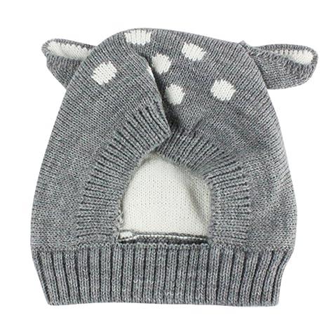 Sombrero de bebé de otoño e invierno Sombreros para niños Sombrero de niños pequeños Bebé lindo