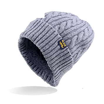 a75fb6aa783 Donna Pierce Women Winter warm Wool Knit Hats Autumn Fashion Beanies Men  Warm Thick skullies Casual