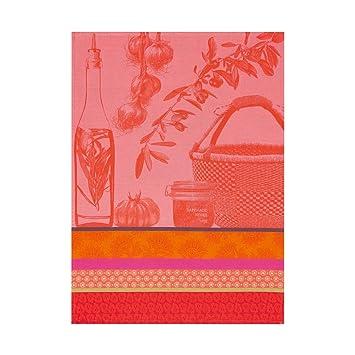 Le Jacquard Francais paño de cocina Saveurs de Provence algodón sandías rectangular (60 x 80 cm): Amazon.es: Hogar