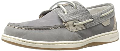 Top-Sider Womens Bluefish Sparkle Gry Boat Shoe, Grey, 5 M US Sperry Top-Sider