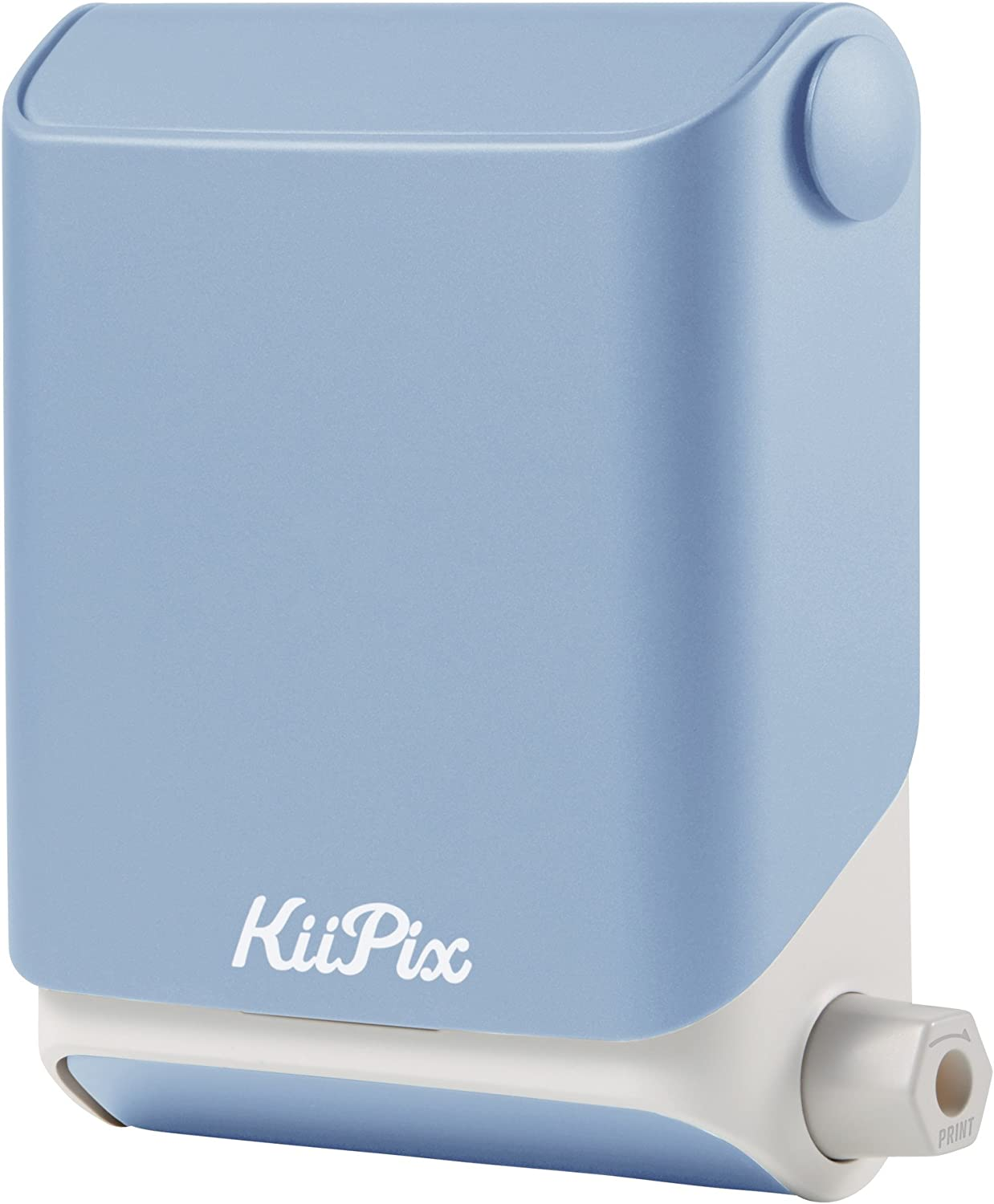 KiiPix Smartphone Picture Printer, Blue | Instantly Print Fun, Retro-Style Photos Right from Smartphone Screen | Portable | No Batteries Required | ...