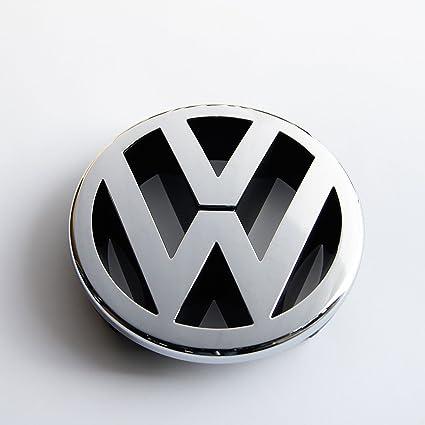 Recambios Originales Volkswagen Emblema parrilla delantera 130mm (GOLF 5, Caddy, EOS, Jetta