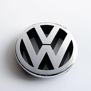 Recambios Originales Volkswagen Emblema parrilla delantera 130mm (GOLF 5, Caddy, EOS, Jetta, Polo, Touran): Amazon.es: Coche y moto