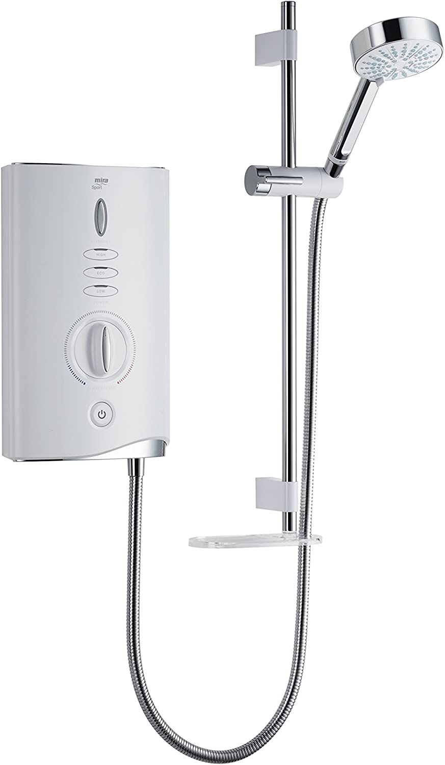 Mira Showers 1.1746.008 Sport Max 10.8 kW Electric Shower - White/Chrome