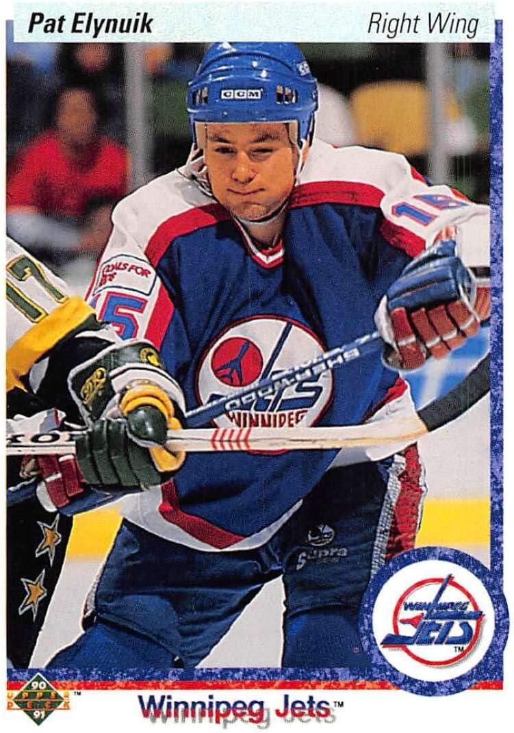 Amazon.com: Hockey NHL 1990-91 Upper Deck #74 Pat Elynuik #74 NM Winn Jets: Collectibles & Fine Art