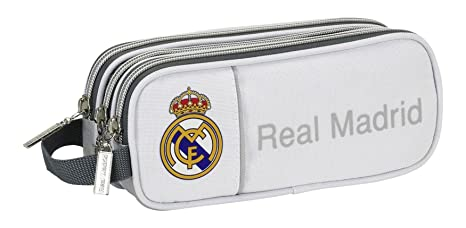 Real Madrid - Estuche portatodo Triple (SAFTA 811624635)