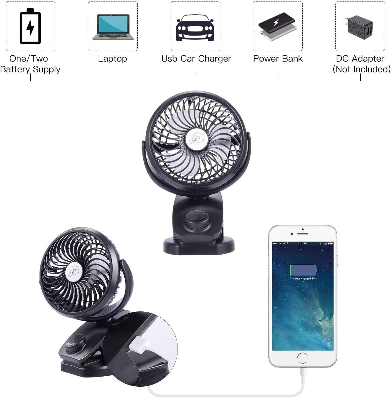 Mini Ventilador USB ,Portatil Ventilador de mesa con clip ...