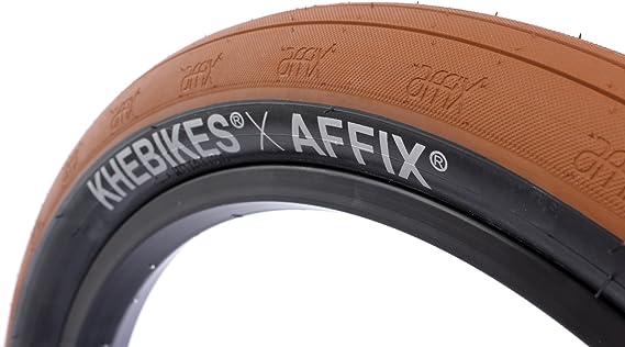 KHE x Affix graisses BMX Pneus Marron Noir 20