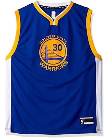 d726a35e9 Outerstuff Stephen Curry Golden State Warriors #30 Blue Youth Road Replica  Jersey