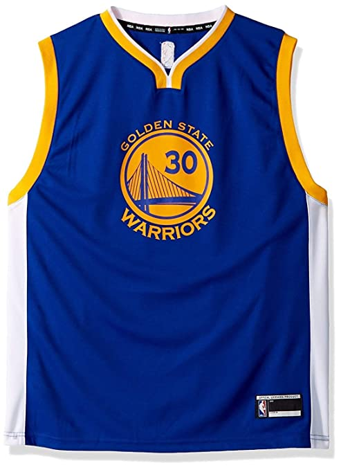2d758d2bd Jerseys Stephen Curry Golden State Warriors  30 NBA Youth Home Jersey White  OuterStuff