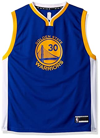 release date fe362 77a07 Stephen Curry Golden State Warriors NBA Youth Blue Road Replica Jersey  (Youth Small 8)