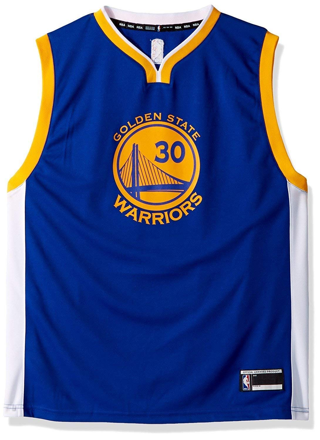 Outerstuff Stephen Curry Golden State Warriors #30 Blue Youth Road Replica Jersey (Small 8)
