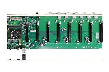 Amazon.com: zzpro minería placa base con buit-in Intel 3865u ...