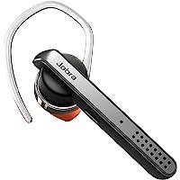 Jabra Talk 45 mono zestaw słuchawkowy – bezprzewodowe telefonowanie, podcasty i muzyka lub odczyt GPS – srebrny