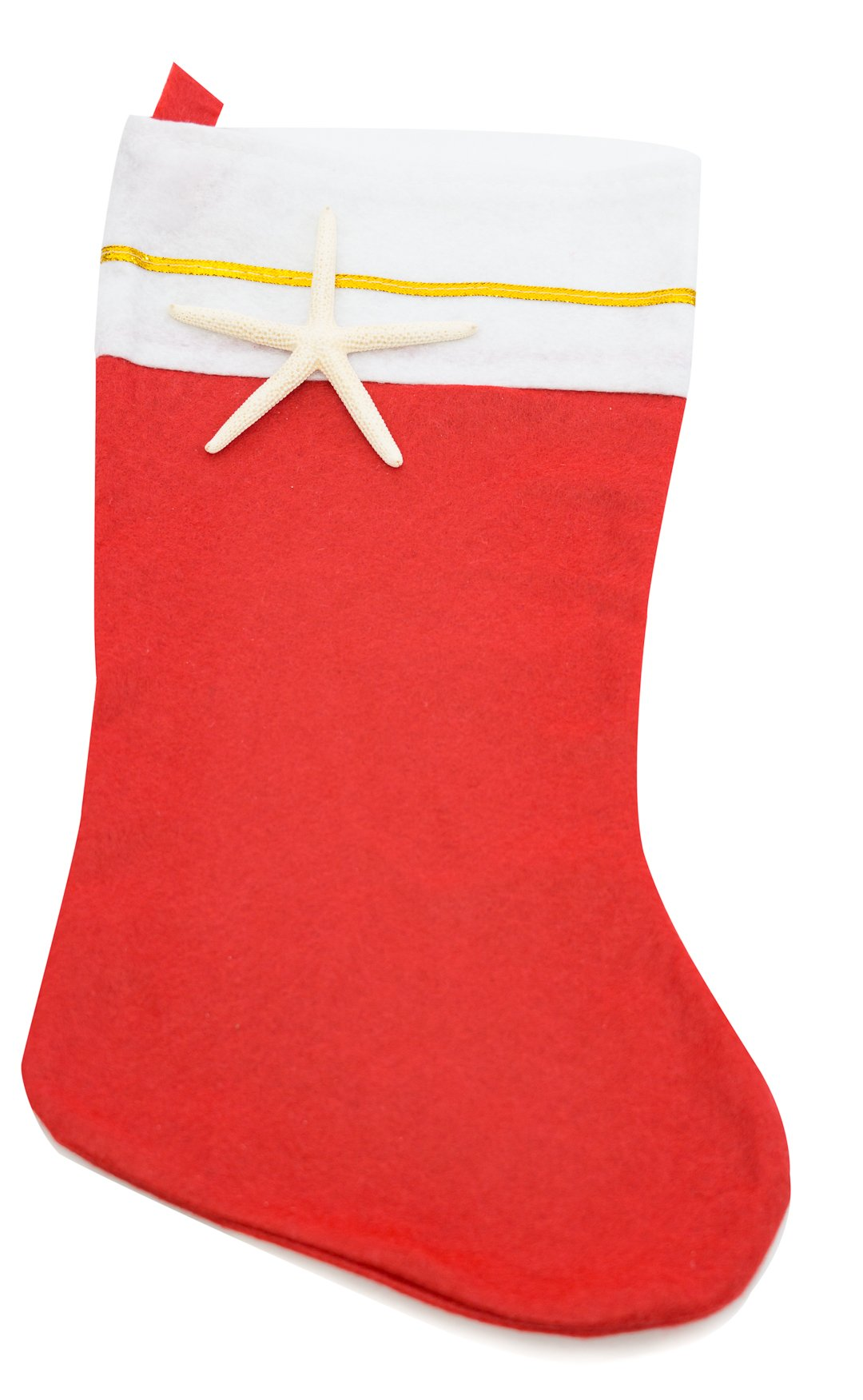 Red Felt Christmas Holiday Stockings | Nautical 16'' Stocking Kit (4 Pack) I Customize your Stocking DIY | Nautical Crush Trading