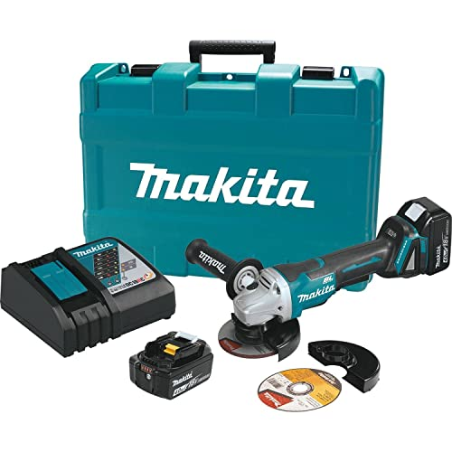 Makita XAG06MB 18V LXT BL Grinder Kit, 4-1 2 Discontinued by Manufacturer