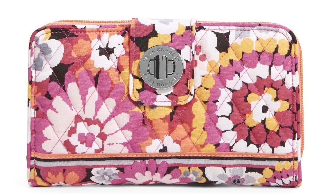 Vera BradleyレディースTurn Lock Wallet B00SOFE9IW Pixie Blooms Pixie Blooms