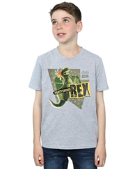 4a4c77842e5 Amazon.com  Disney Boys Toy Story Partysaurus Rex T-Shirt  Clothing