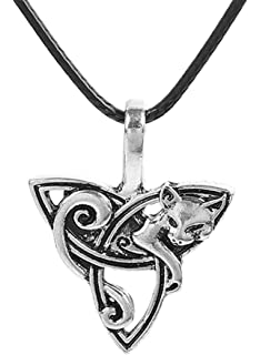 0bae3f79b5b03 Amazon.com: Lisa Parker Woodland Celtic Pentagram Black Mystic Cat ...