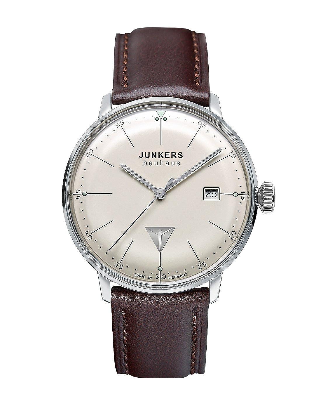 Junkers Reloj Analógico de Cuarzo para Hombre con Correa de Cuero – 60705