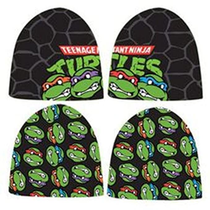Amazon.com: Teenage Mutant Ninja Turtles Reversible gorro ...