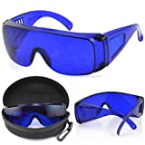 TRIXES Golf Ball Finder Glasses Includes Protective Case and Cleaning Cloth
