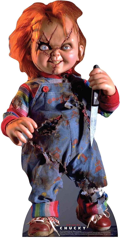 Star Cutouts SC1316 Juego de niños de Chucky Scarred, perfecto ...