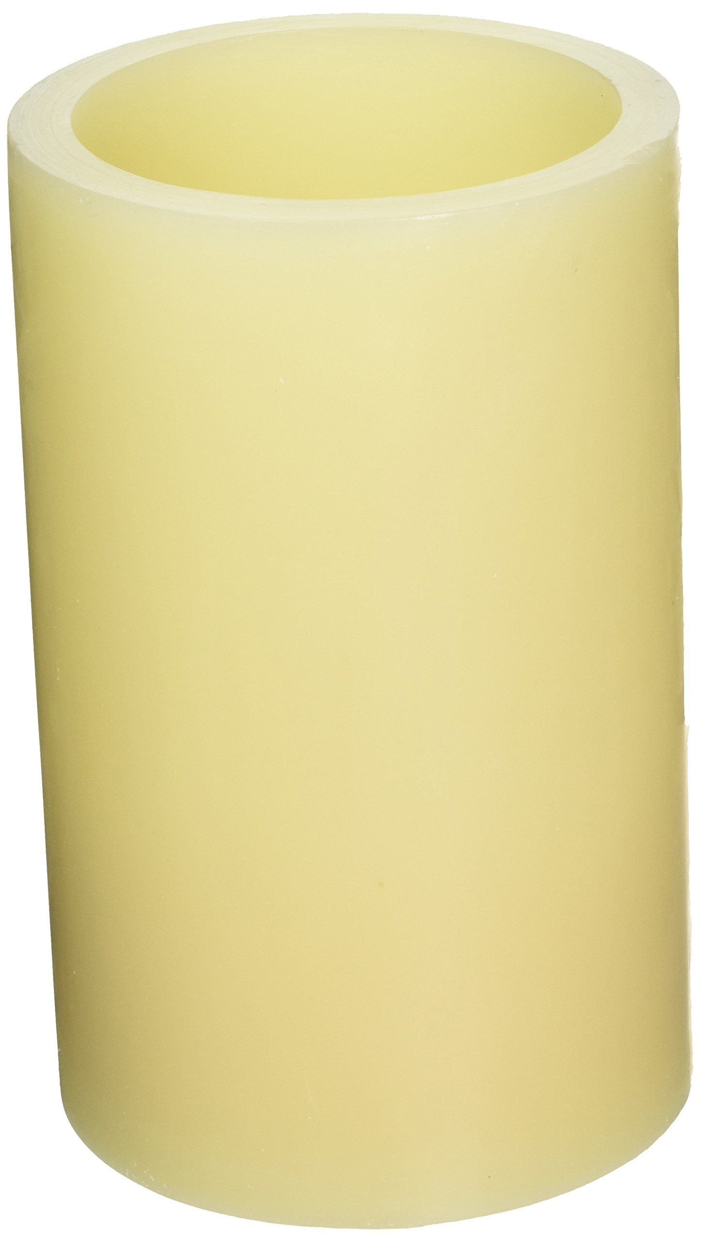 Pacific Accents Flameless Wax Pillar Candle - Ivory