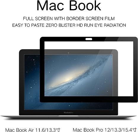 Protector de pantalla LCD antideslumbrante para MacBook SZHHDX sin burbujas al pegarlo: Amazon.es: Electrónica