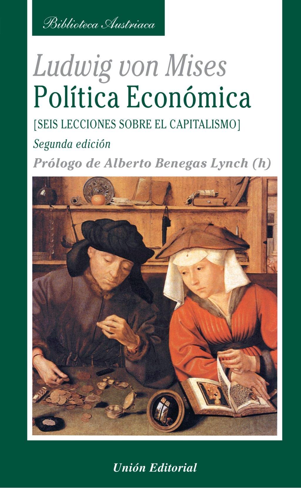 POLÍTICA ECONÓMICA. SEIS LECCIONES SOBRE EL CAPITALISMO (2.ª edición)