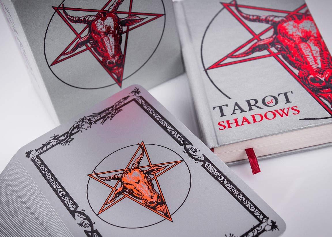 SLVR TRT Tarot Shadows Sklyarova Silver Trim + Book Gift Set with Box Easter Gift by SLVR TRT (Image #7)