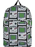 Super Mario Game Boy Backpack black-white-green