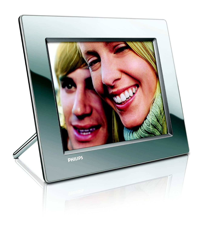 Philips 8FF3WMI Digitaler Bilderrahmen silber: Amazon.de: Kamera