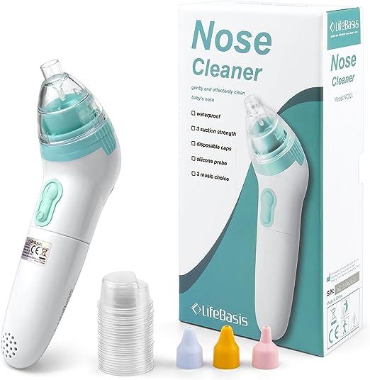 LifeBasis Aspirador Nasal para bebés Baby Nasal Aspirator ...