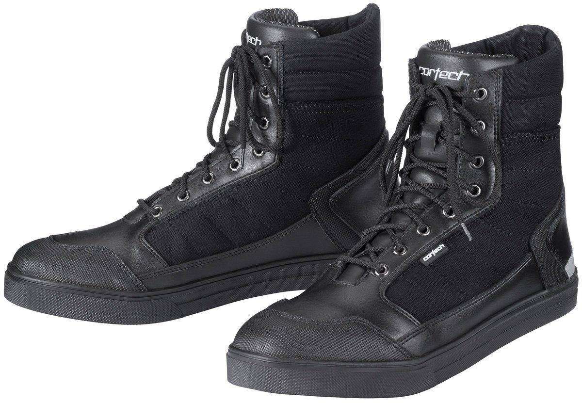 Cortech Men's Vice WP Riding Shoe(Black, Size 8), 1 Pack