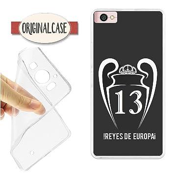 Funda Carcasa Funda Real Champions 13 Reyes DE Europa Madrid KIEV 2018 XIAOMI Note 5A 2018