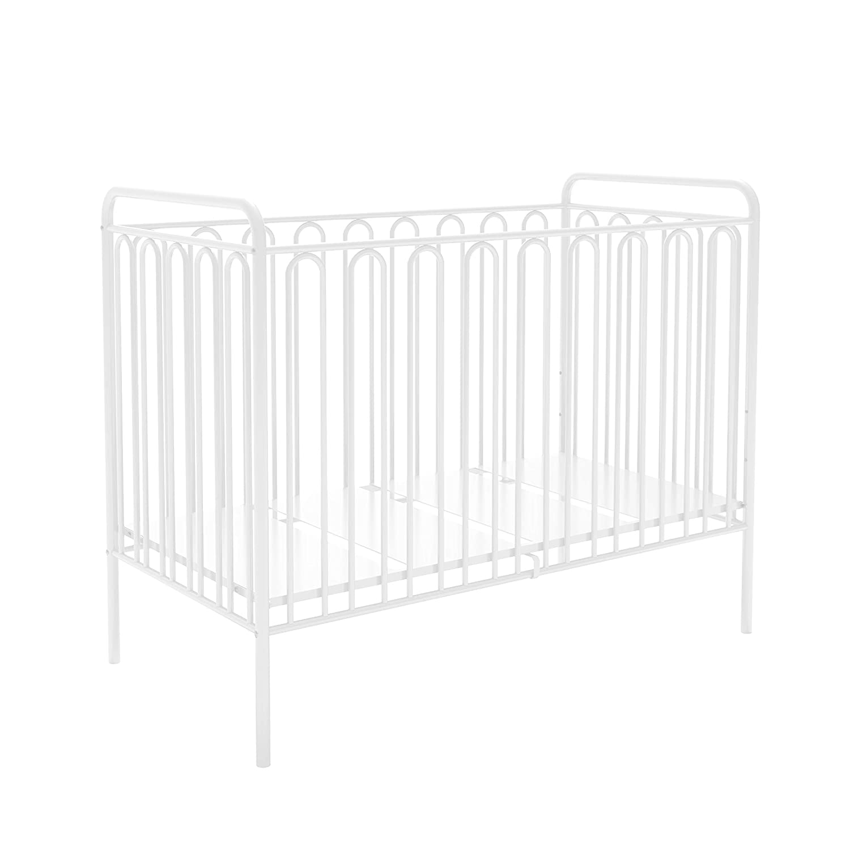 of Kidsaw Vintage Metal Baby Cot 150 White