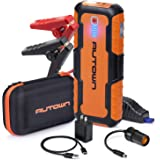 AUTOWN Car Jump Starter - 21000mAh 1000A Peak, 12V Auto Battery Booster with Quick Charge (Up to 8.0L Gas, 6.5L Diesel Engine