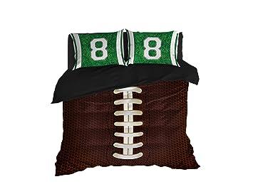 Cool Bedding American Football Nr8 Bettdeckenbezug Bettwäsche Twin