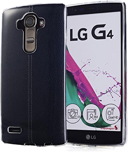 Arbalest® Funda LG G4, [Crystal Clear] [Jelly Series] Prima ...