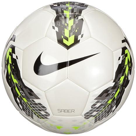 Nike SC1960-170 Saber - Balón de fútbol (Talla 4): Amazon.es ...