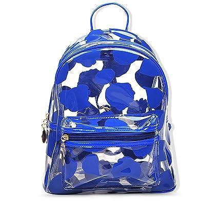 Teeya Multi-Colors Pvc Backpack School Outdoor Backpack 5655dd709fd68
