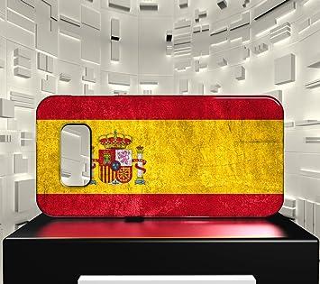 Funda Carcasa para Galaxy S8 Bandera ESPAÑA 01: Amazon.es: Electrónica