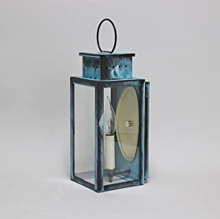 product image for Brass Traditions 451 DAVG Small Thin Wall Lantern 400 Series, Verde green Finish 400 Series Thin Wall Lantern